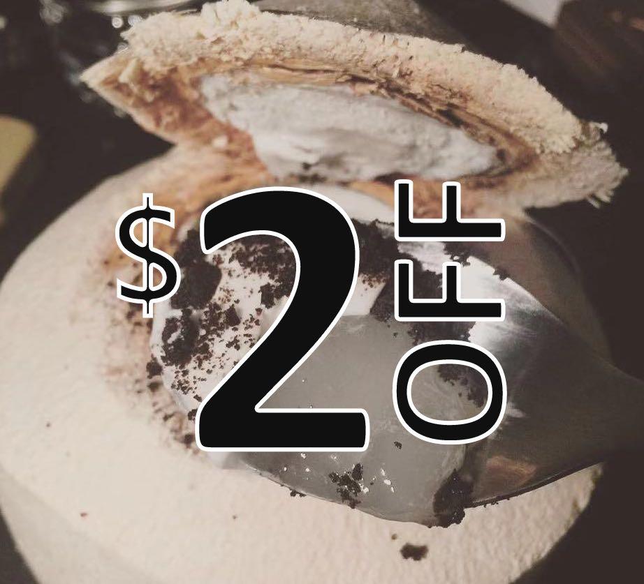 Oreo Coconut Jelly 奧利奧椰子凍