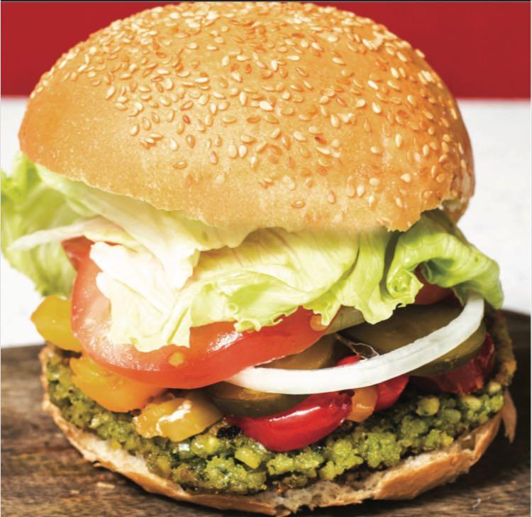 Veggie Burger 素菜漢堡 $3