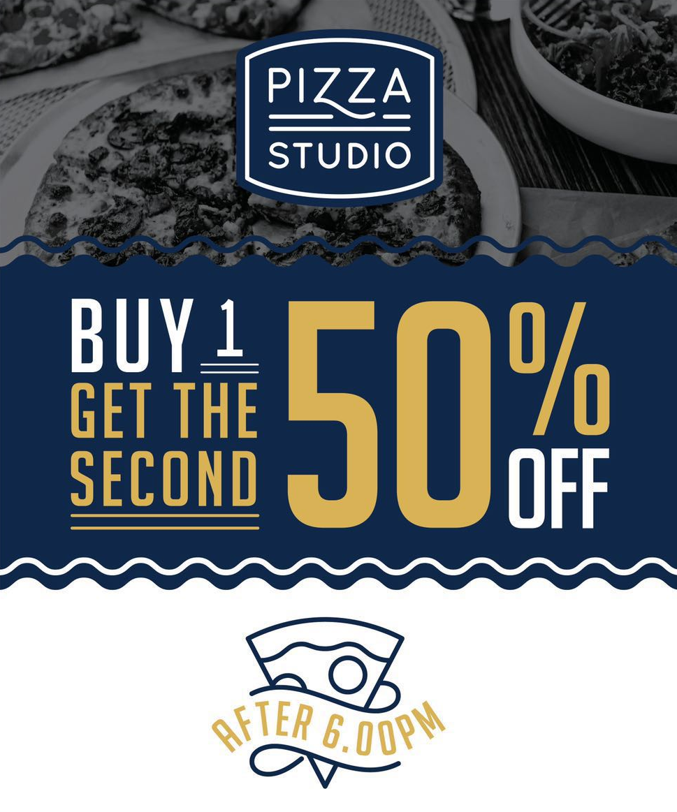 Buy 1 Get The Second 50% Off