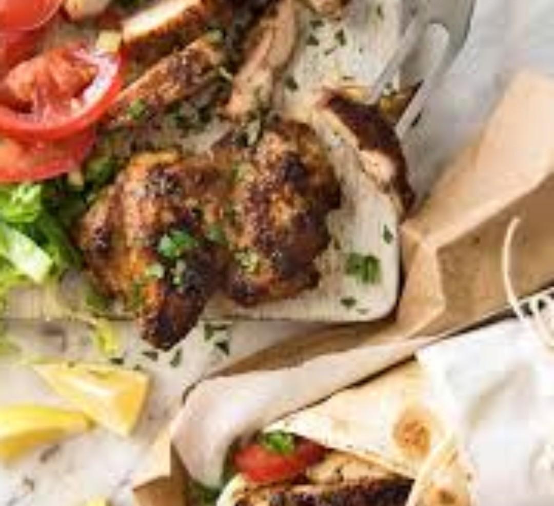 Extra Large Chicken Shwarma Wrap $4.99
