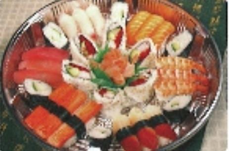 15% off Sushi Tray (36pcs) $29