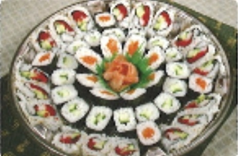15% Off Maki Tray (50pcs) $25