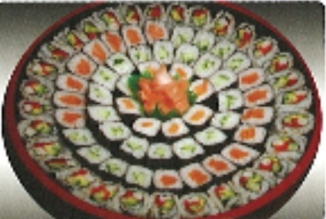 15% Off Large Maki Tray (88pcs) $44