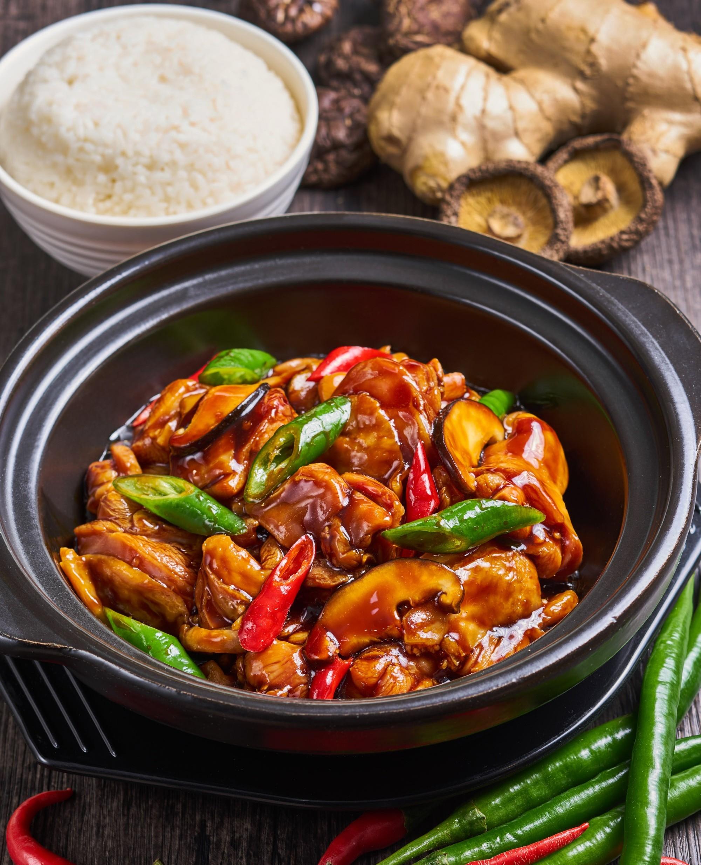 黄焖鸡米饭(无骨)