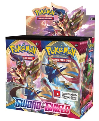 Pokemon Sword and Shield Booster Packs
