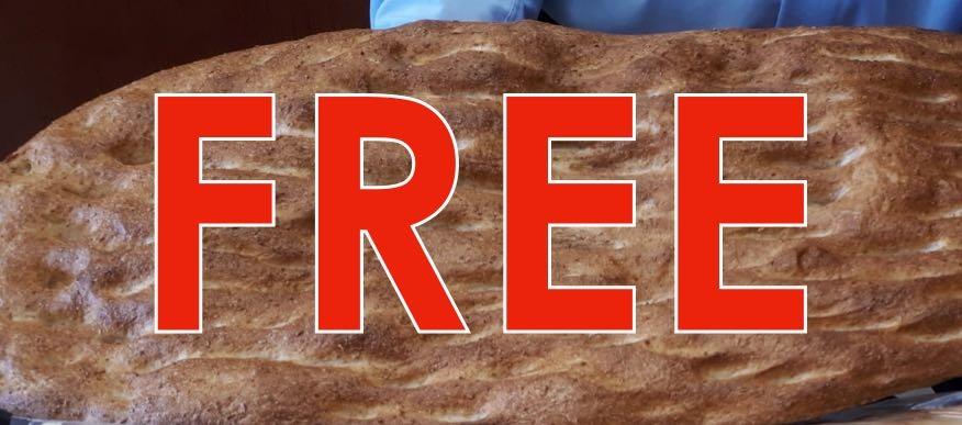 Free Bread 1 Loaf