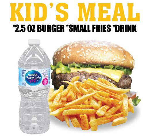 Kid's Meal $2