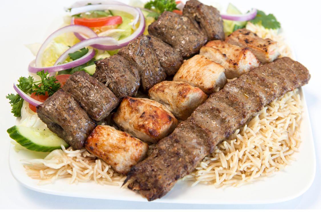 Beef Tikka Seekh Kabob Chicken Kabob